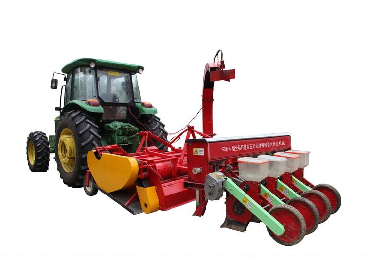 碎秸整体均覆全秸硬茬地玉米播种机